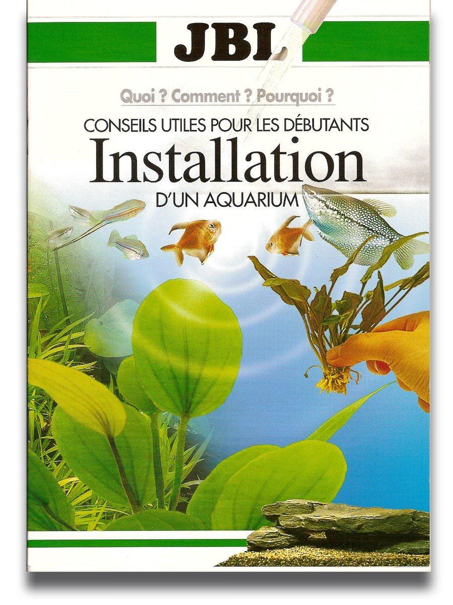 Livre installation aquarium