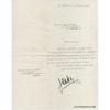 Joséphine BAKER - Lettre dactylographiée signée (Les Milandes / 1968)