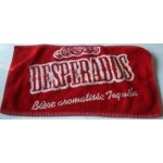 serviette de bar desperados rouge