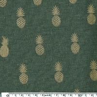 A nana's fabric, tissu lin kaki 20 x 130 cm