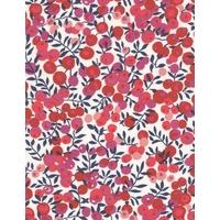 Liberty Wiltshire rouge fond blanc S 20x137 cm