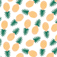 Jersey Ananas flashy 20 x 140 cm